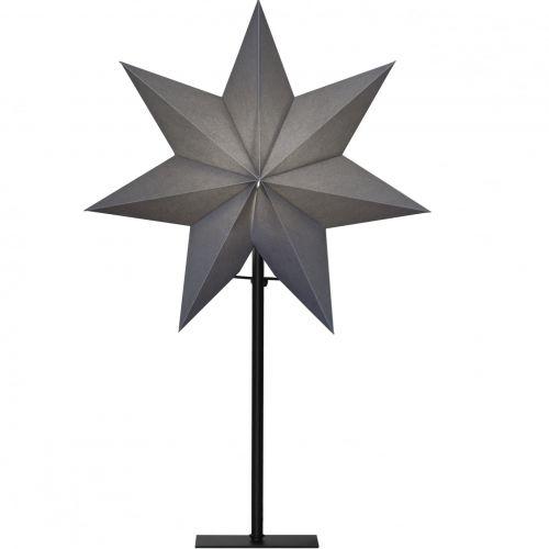 STAR TRADING / Stojaca lampa - Grey Star