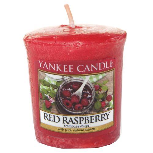 Yankee Candle / Votívna sviečka Yankee Candle - Red Raspberry