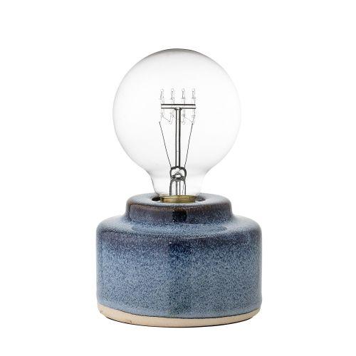 Bloomingville / Porcelánová stolná lampa Blue