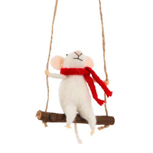 sass & belle / Závesná dekorácia Swinging Mouse