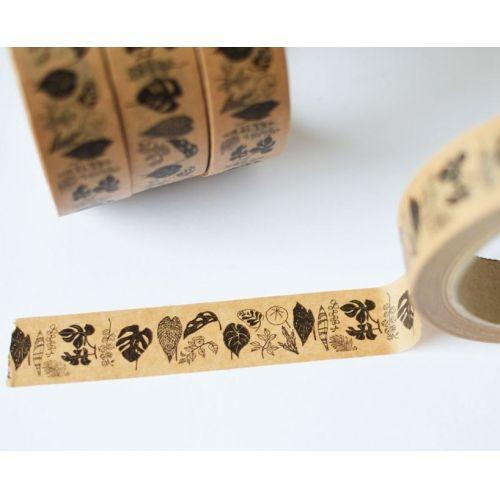 MANKAI Paper / Hnedá papierová páska Izbové rastliny
