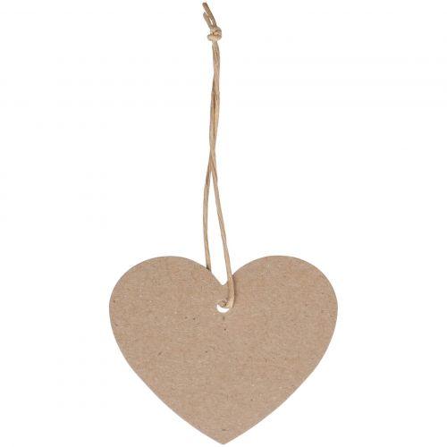 Chic Antique / Papierový štítok Heart