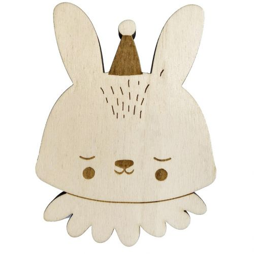 EEF lillemor / Detský drevený vešiak Circus Bunny