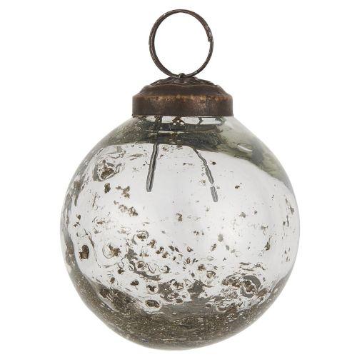 IB LAURSEN / Vianočná ozdoba Pebbled Glass Clear