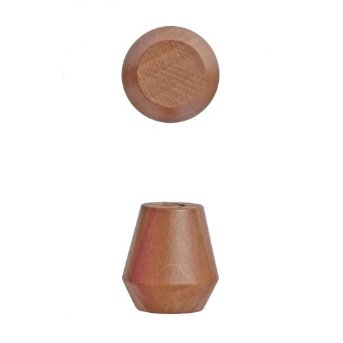 OYOY / Drevený háčik Saki Caramel - 2 ks