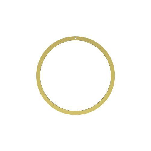 COOEE Design / Mosadzný kruh na dekorovanie Brass 20 cm
