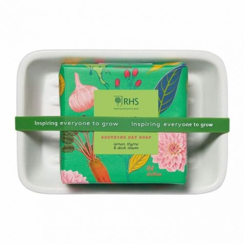 HEATHCOTE & IVORY / Mydlo s mydelničkou - Home Grown 150 g