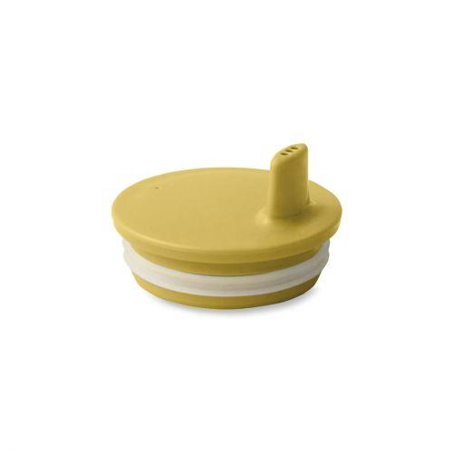 DESIGN LETTERS / Viečko na pitie na melamínový hrnček Mustard