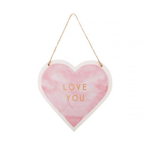 sass & belle / Závesná dekorácia Love You