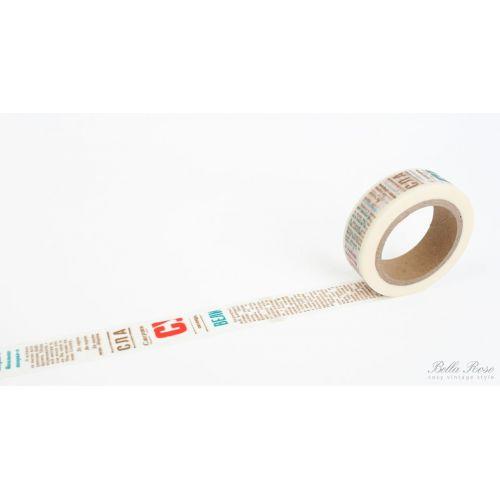 La finesse / Samolepící designová páska - texty