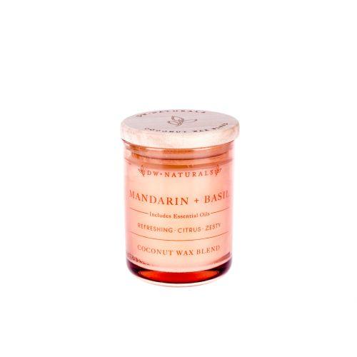dw HOME / Mini vonná sviečka Mandarínka s Bazalkou - 103gr
