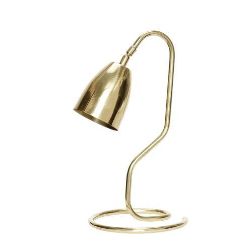 Hübsch / Mosadzná stolná lampa