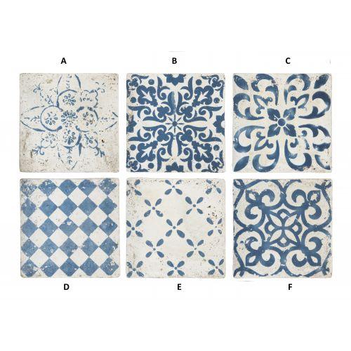 IB LAURSEN / Keramická kachlica Marrakech Blue