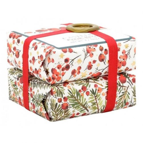 CASTELBEL / Set vianočných mydiel Fresh Berries - 2 ks