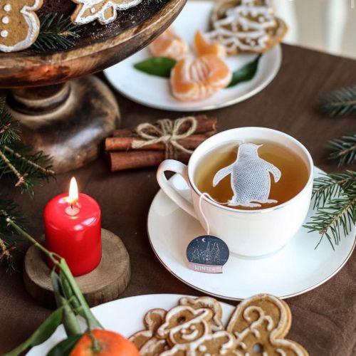 TEA HERITAGE / Vianočný čaj Penguin 5 ks