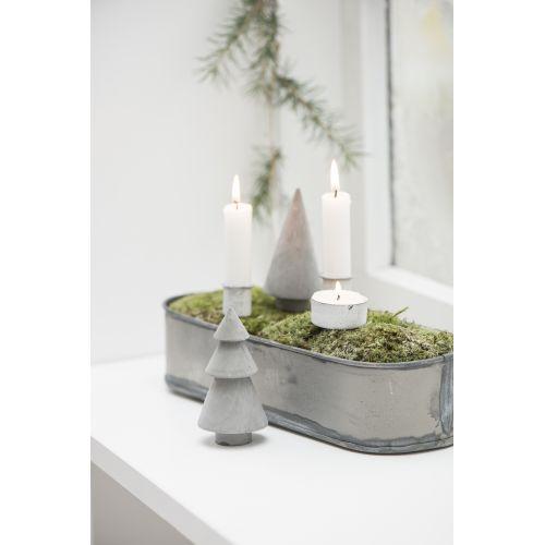 IB LAURSEN / Biely zapichovací svietnik na čajovú sviečku