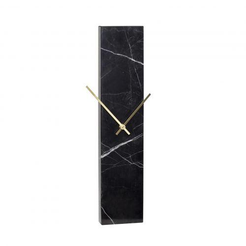 Hübsch / Nástenné hodiny Black Marble
