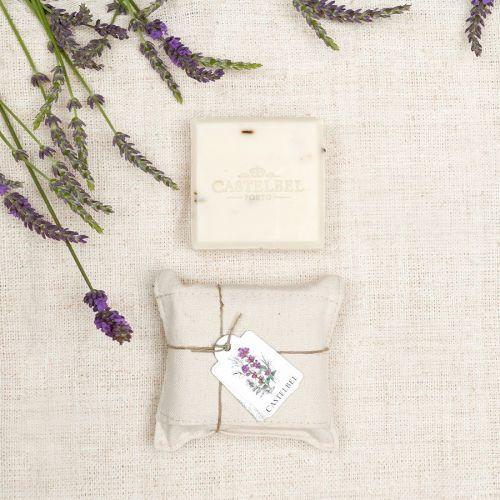 CASTELBEL / Tuhé levanduľové mydlo Linen Lavender - 150 g
