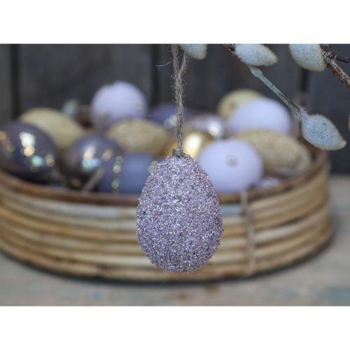 Chic Antique / Veľkonočné vajíčko Lavender Fog