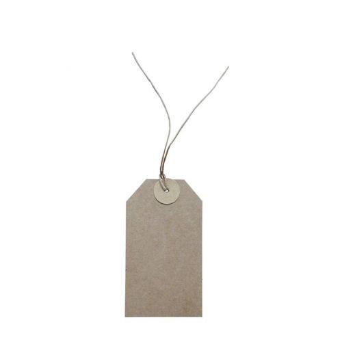 Chic Antique / Papierový štítok Nature 12x7cm