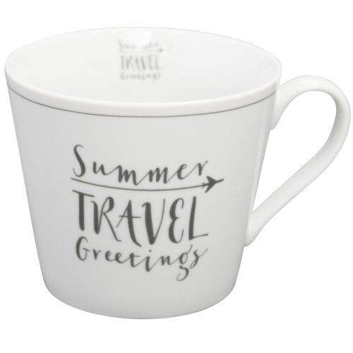 Krasilnikoff / Porcelánový hrnček Summer Travel Greetings