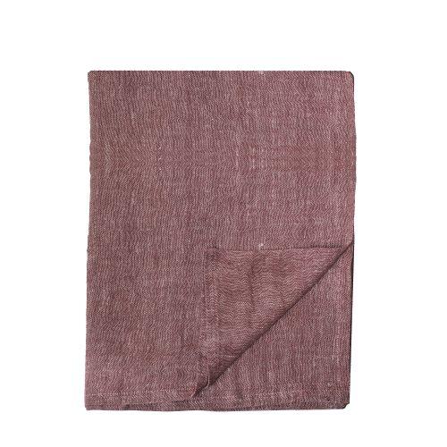 Bloomingville / Bavlnený obrus Red Table Cloth 240 x 140 cm
