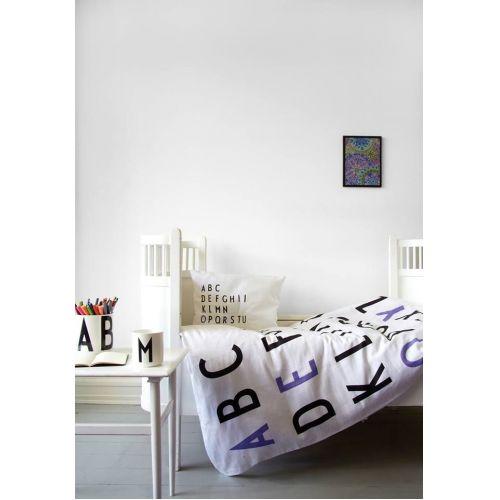 DESIGN LETTERS / Detské obliečky Letters Purple 100x140