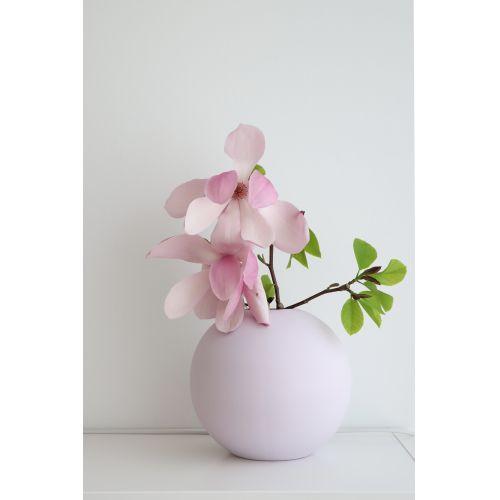 COOEE Design / Guľatá váza Ball Lilac 20cm