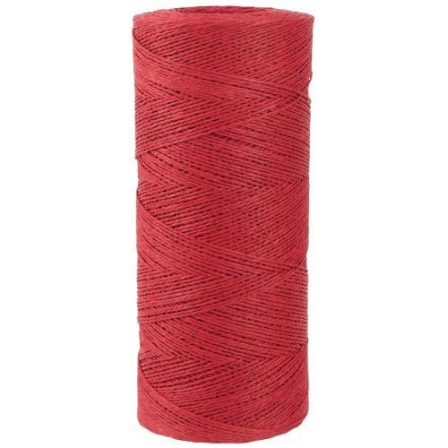 IB LAURSEN / Papierový povrázok Red - 10 m