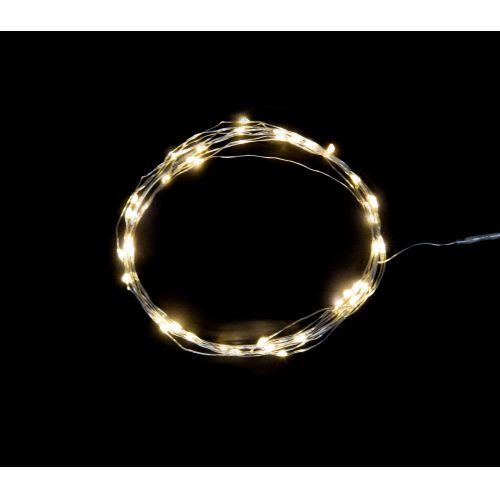 IB LAURSEN / Svetelný LED drôtik s 40timi žiarovkami