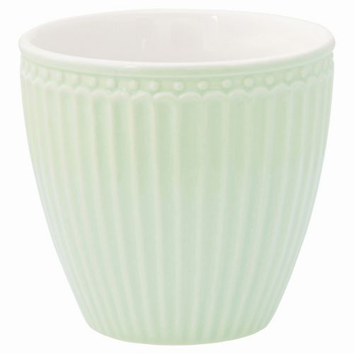 GREEN GATE / Latte cup Alice pale green