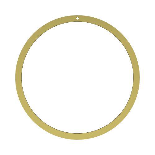 COOEE Design / Mosadzný kruh na dekorovanie Brass 40 cm