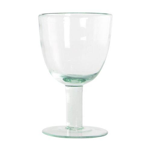 House Doctor / Pohár na víno Aqua green 250 ml