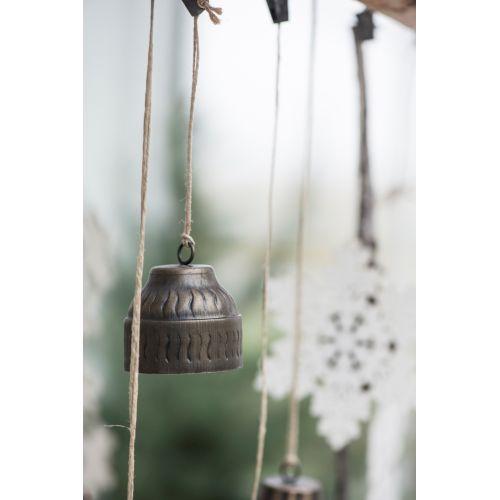 IB LAURSEN / Dekorativní zvoneček Bell wavy