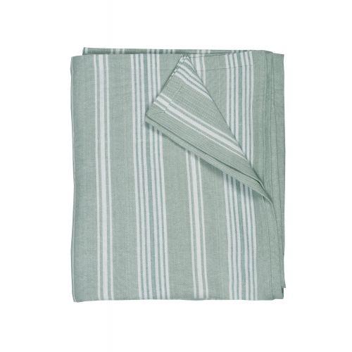 Garden Trading / Bavlnený obrus Peppermint Stripe 320x160cm