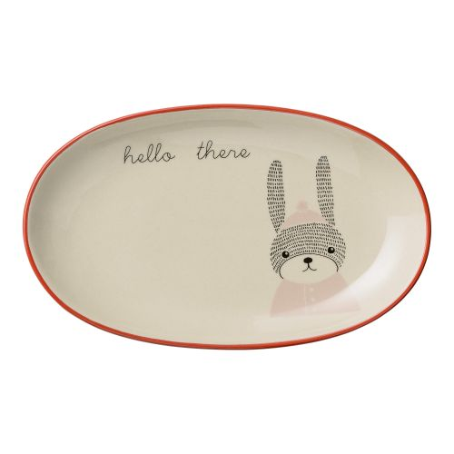Bloomingville / Oválny tanierik Mollie Rabbit