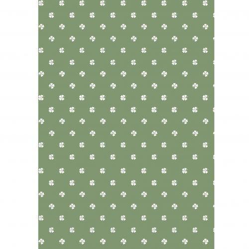 IB LAURSEN / Baliaci papier Four-leaved Clovers – 10 m