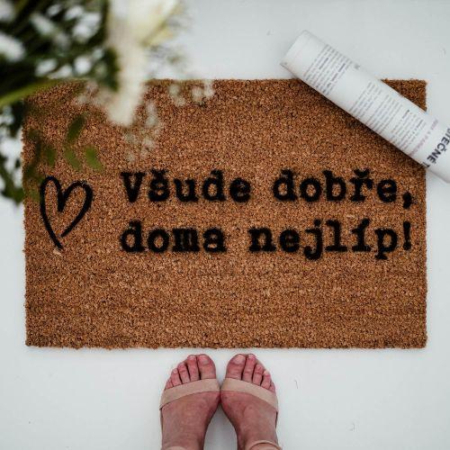 Artsy Doormats / Rohožka Všude dobře, doma nejlíp
