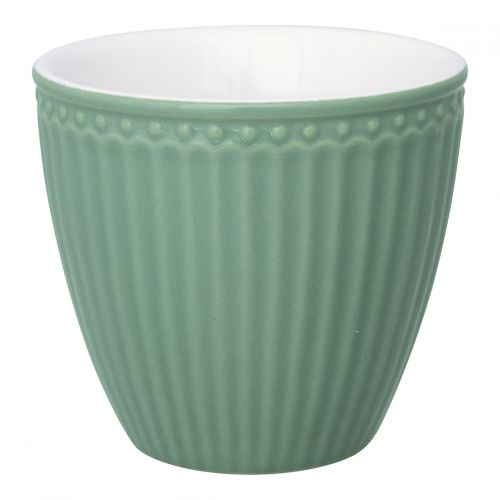GREEN GATE / Latte cup Alice dusty green