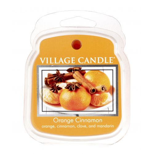 VILLAGE CANDLE / Vosk do aromalampy Orange Cinnamon