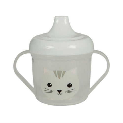 sass & belle / Detský hrnček s náustkom Cat Kawaii