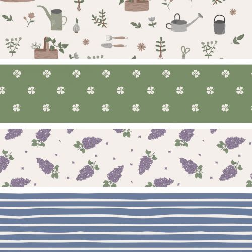 IB LAURSEN / Baliaci papier Spring Patterns - 5m