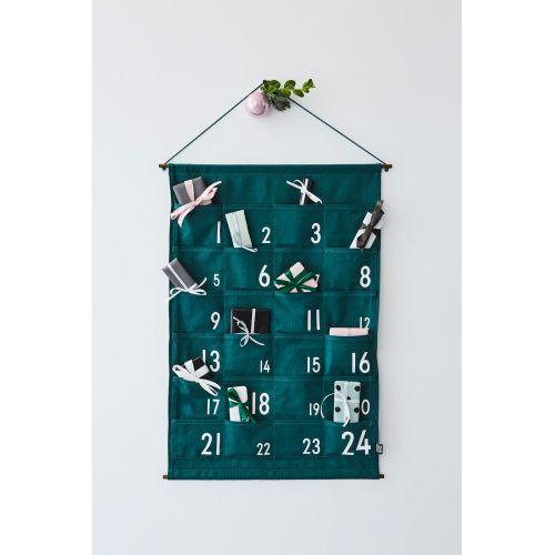 DESIGN LETTERS / Adventný kalendár Pine Green