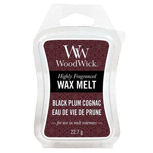 WoodWick / Vosk do aromalampy WoodWick - Black Plum Cognac  22,7g