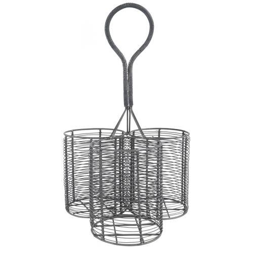 IB LAURSEN / Drôtený držiak Wine Basket