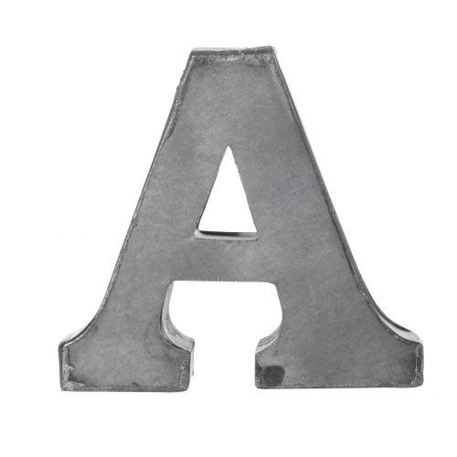 MADAM STOLTZ / Plechové písmeno A, 6 cm