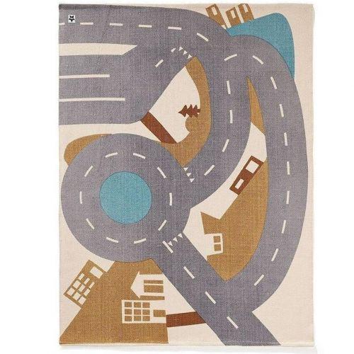 Kids Concept / Detský koberec City Rug Aiden 170 x 130 cm