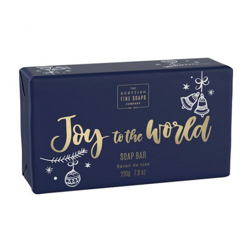 SCOTTISH FINE SOAPS / Vánoční tuhé mýdlo Joy to the World 220g