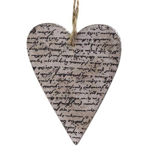 Chic Antique / Závesná dekorácia Love Letter