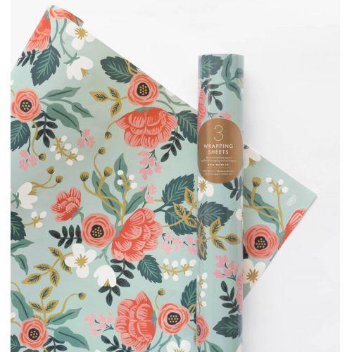 Rifle Paper Co. / Baliaci papier s kvetinami Birch - 3 listy